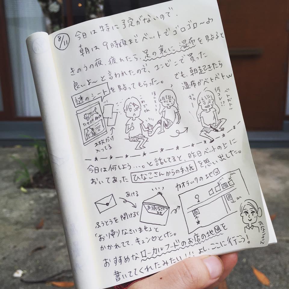 カオラック新婚旅行_:絵日記_momucofu_019