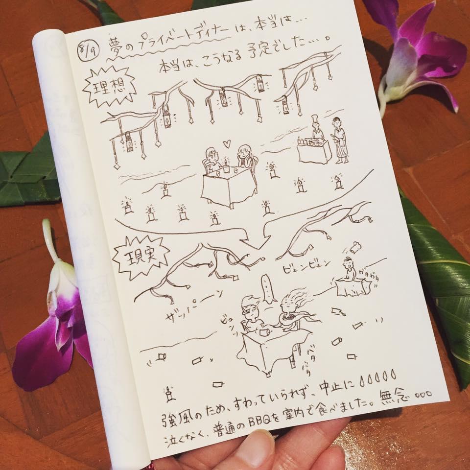 カオラック新婚旅行_:絵日記_momucofu_012