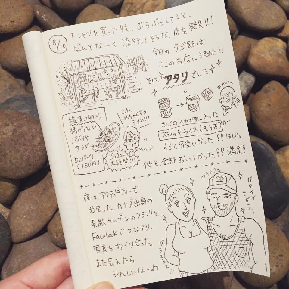 カオラック新婚旅行_:絵日記_momucofu_017