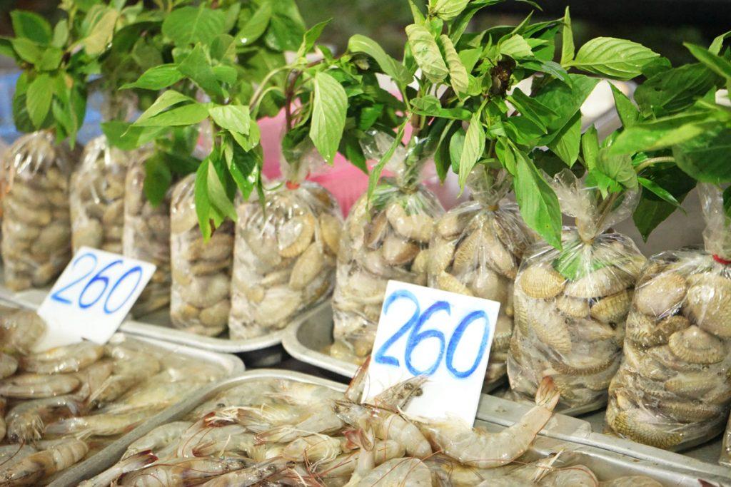 タイ/カオラックの海鮮