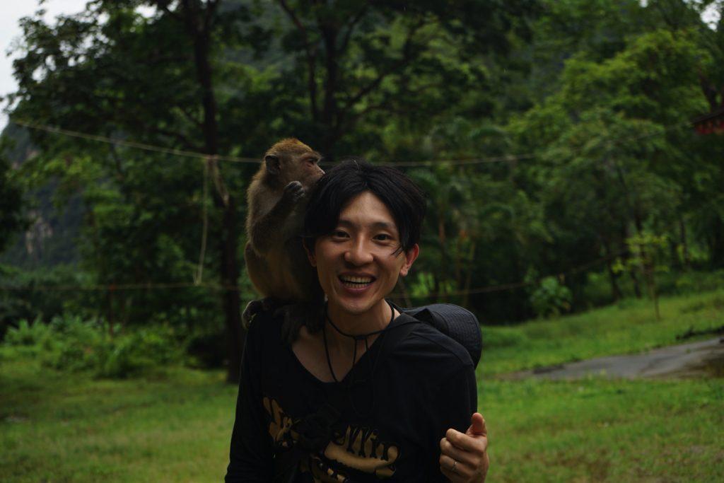 モンキーテンプル:猿と僕