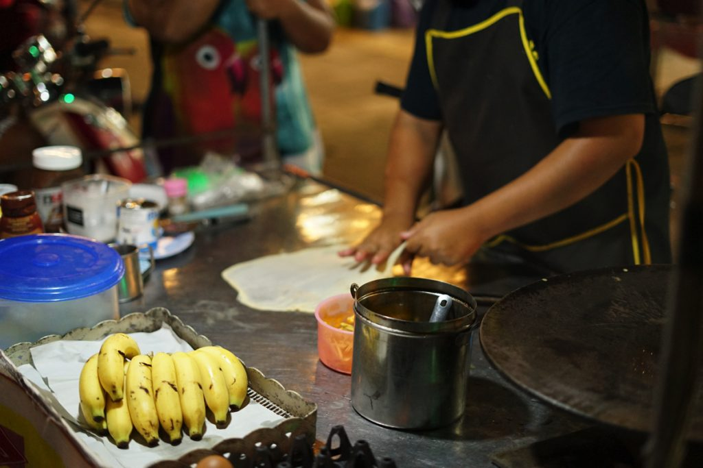 カオラック旅行記:バンニャン市場の屋台