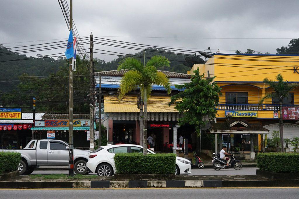 カオラック旅行記:カオラックお店、カレー屋さん