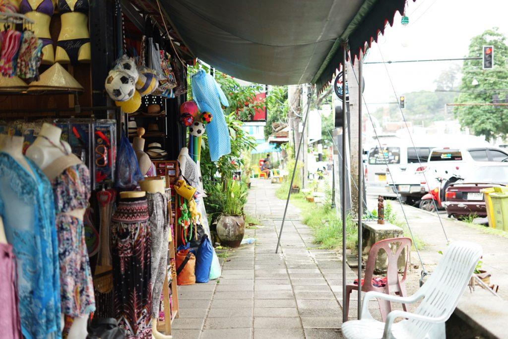 カオラック旅行記:カオラックの街並み