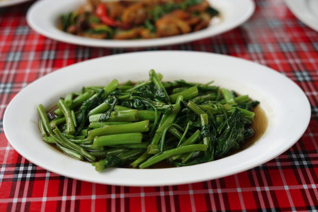 カオラック旅行記:空芯菜