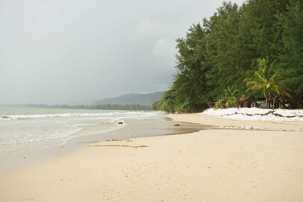 カオラック旅行記:サロジンビーチ