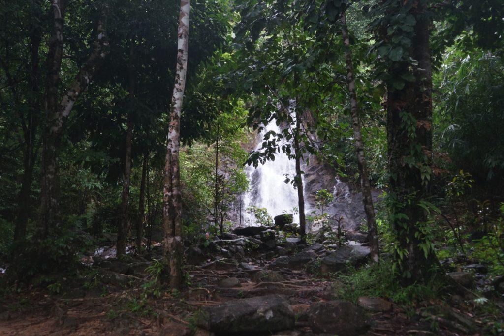 カオラック旅行記:サイルン滝2