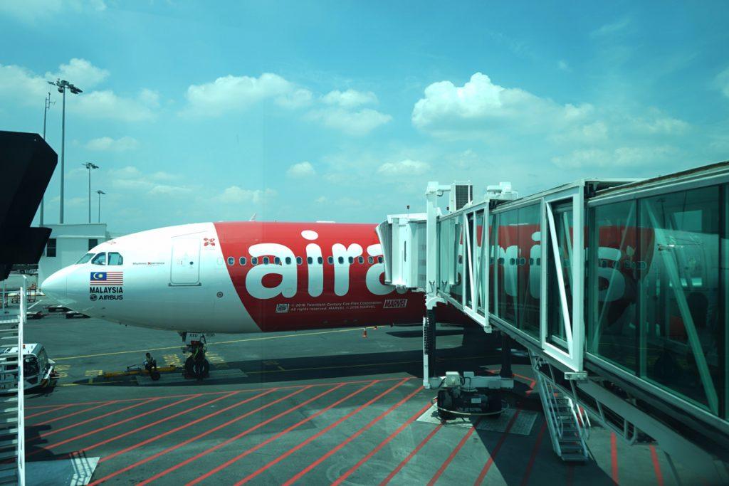 カオラック旅行記:クアラルンプール空港を出発