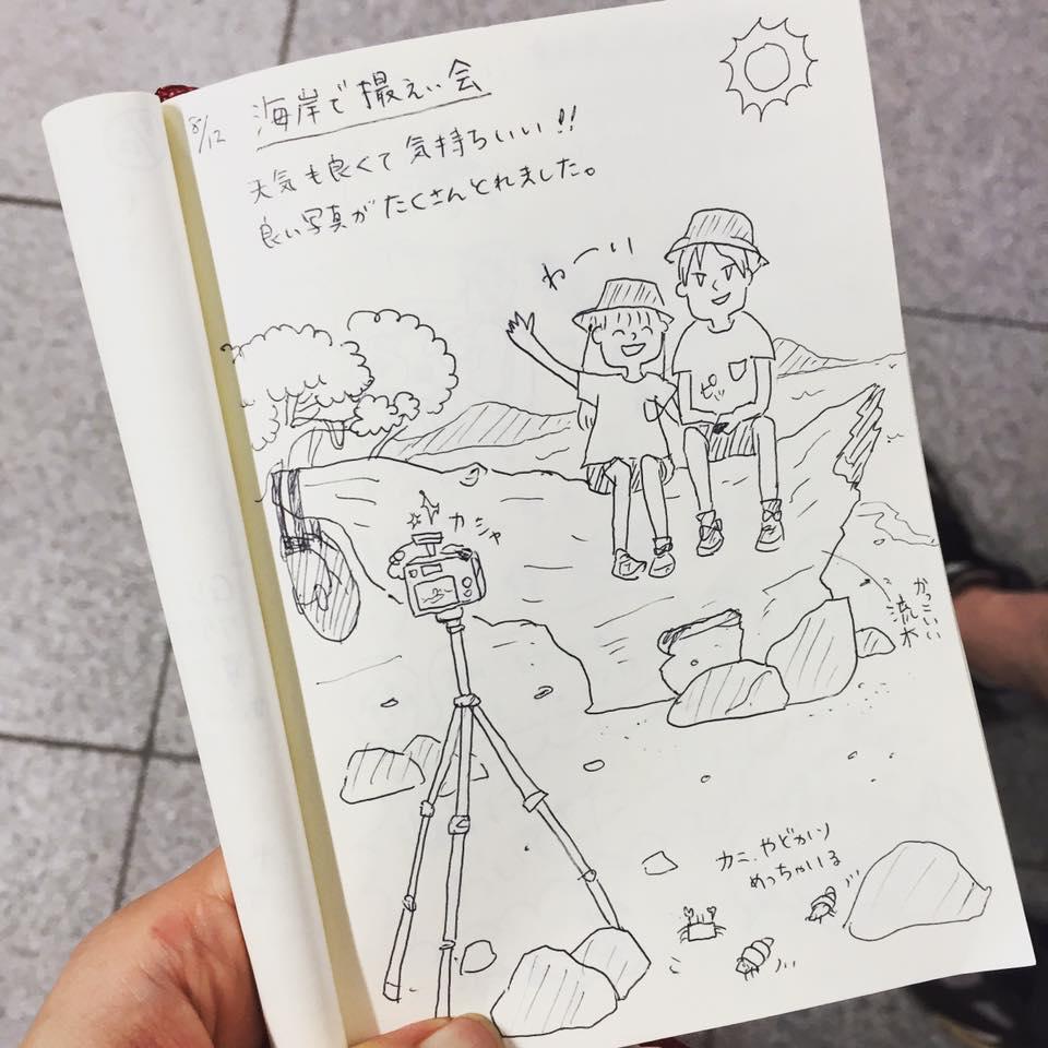 カオラック新婚旅行_:絵日記_momucofu_027