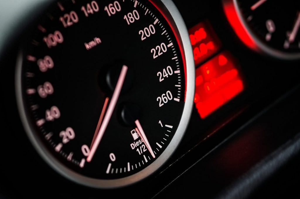 カオラックまでのタクシーの速度イメージ