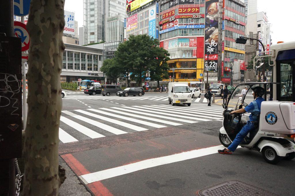 てとてと:渋谷の交差点