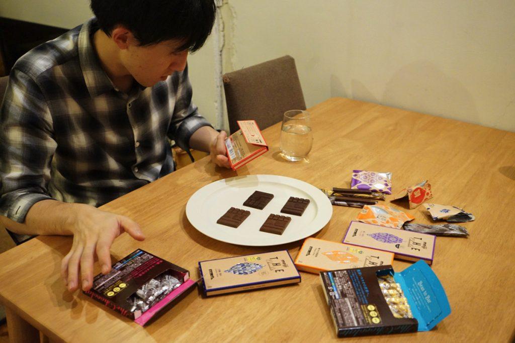 てとてと_チョコレート検定_新パッケージのザ・チョコレート_井上豪希