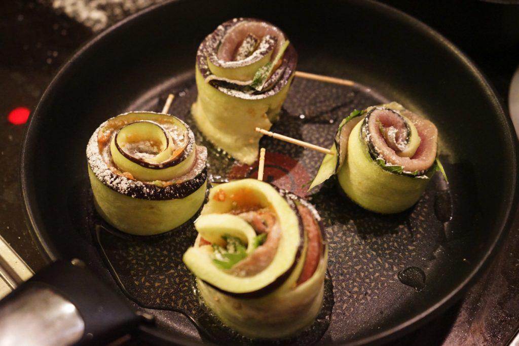 てとてと_レシピ_秋刀魚と茄子のロール13