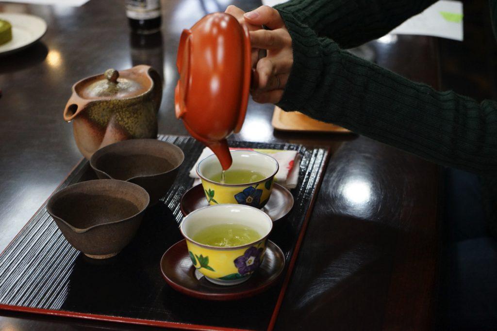 てとてと_日本茶飲み比べ