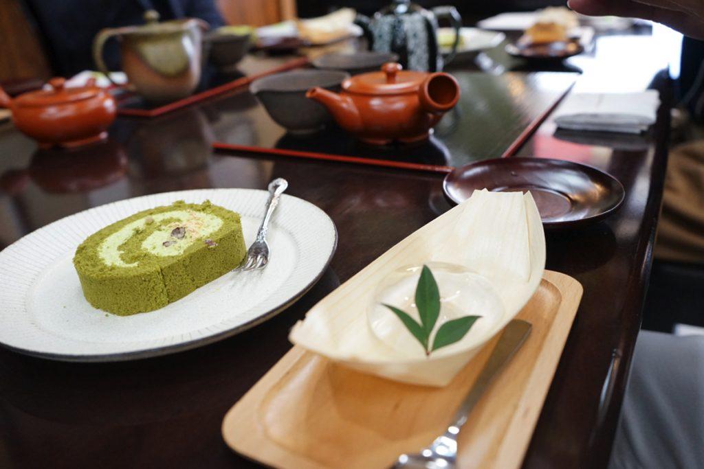 てとてと_日本茶飲み比べ_スイーツ